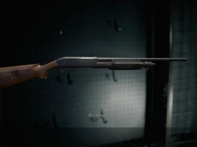 Resident Evil 3 M3 Shotgun G19 Red Dot Sight Guide Shotgun