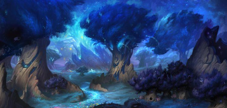 Screenshot Full Ardenweald Concept Shadowlands livestream