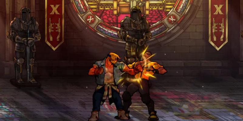 Streets Of Rage 4 Battle Mode