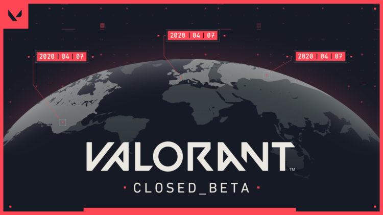 Valorant Closed Beta Begins