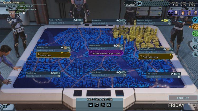 Xcom Chimera Squad City 31 Missions Field Teams Anarchy Unrest Map
