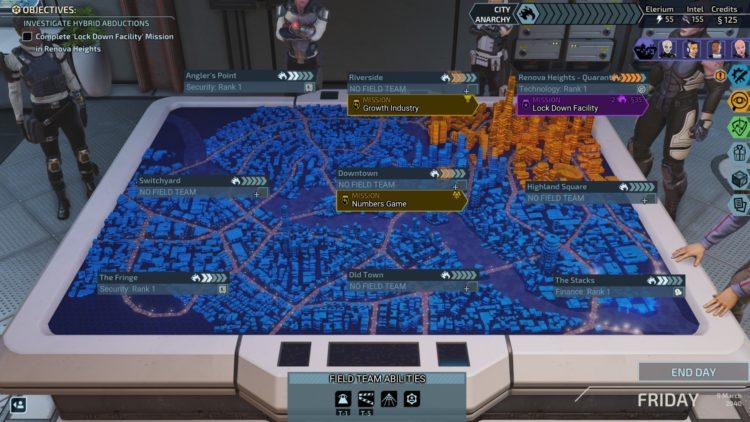 XCSq - 1 missions map