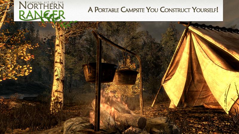 Camping Kit Skyrim Mod Animal Crossing New Horizons