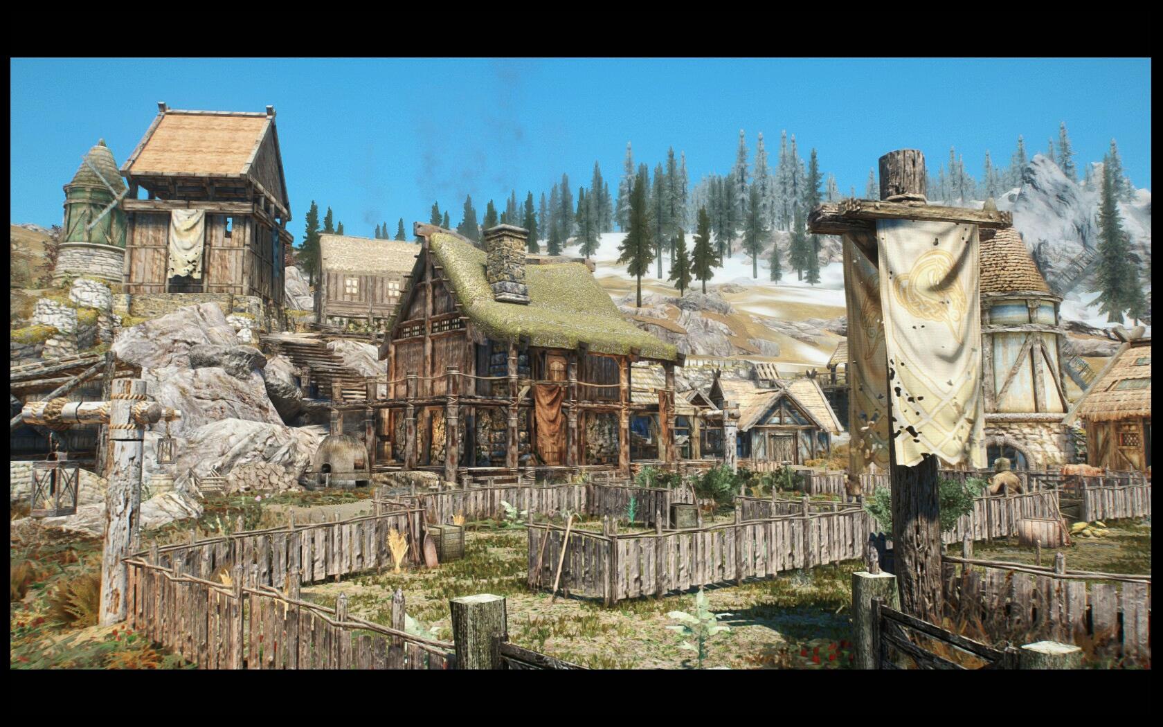 Heljarchen Farm Skyrim Mod Animal Crossing New Horizons