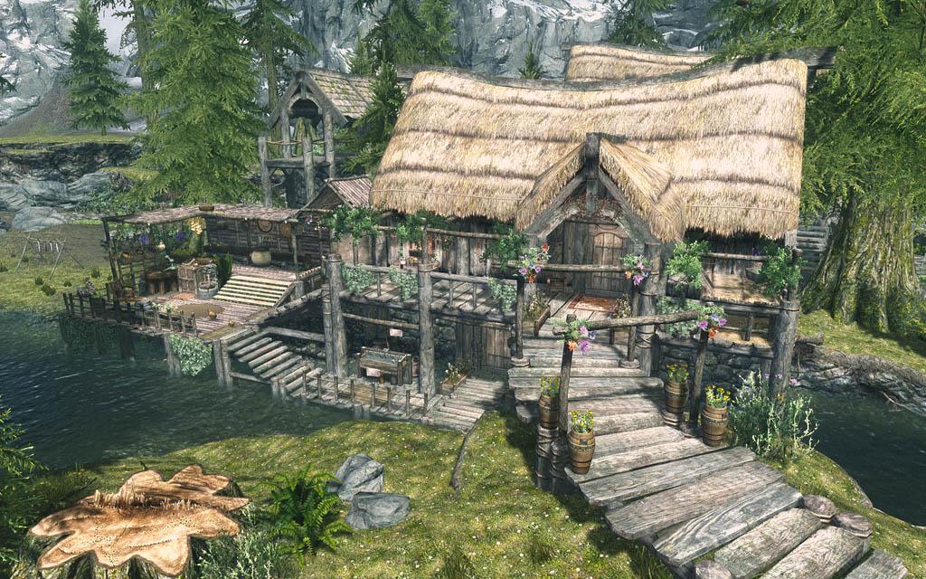 Leaf Rest Skyrim Mod Animal Crossing New Horizons