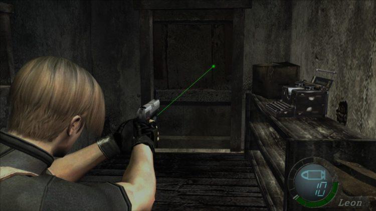 Resident Evil 4 Mods Laser Tweak