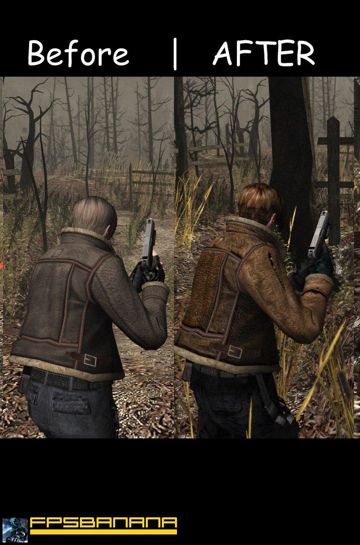 Resident Evil 4 Mods Leon X