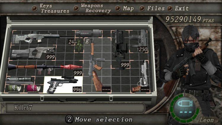Resident Evil 4 Mods Masked Bandit Dude