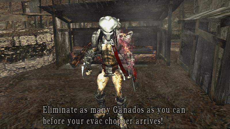 Resident Evil 4 Mods Predator Krauser