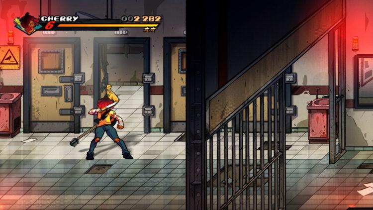 Streets Of Rage 4 Retro Levels Secret 2