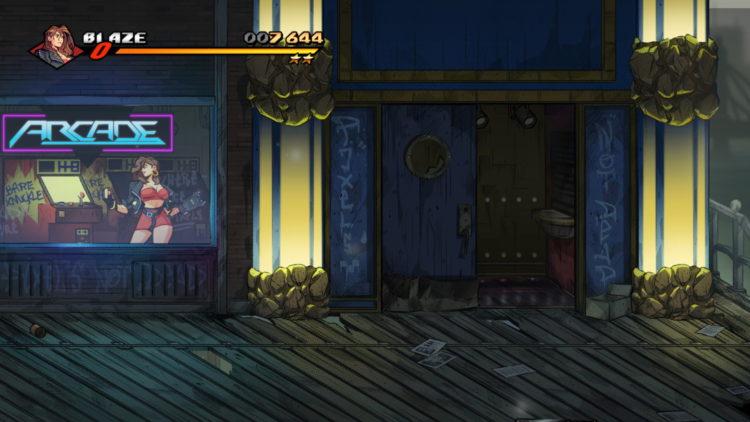 Streets Of Rage 4 Retro Levels Secret 5