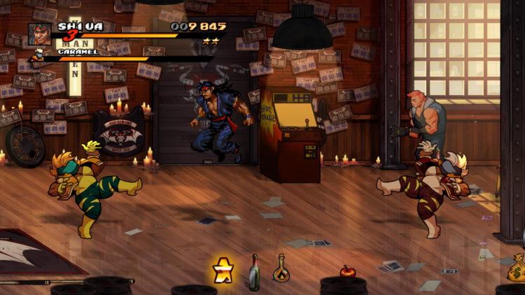 Streets Of Rage 4 Retro Levels Secret 7 Bar
