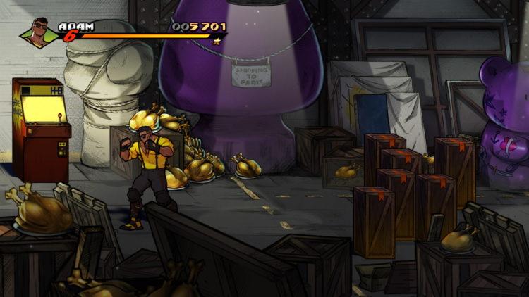 Streets Of Rage 4 Retro Levels Secret 8 Art Gallery