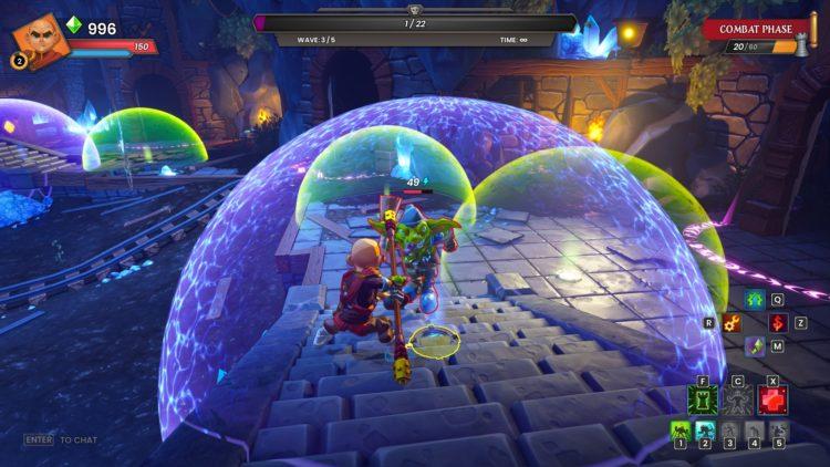Dungeon Defenders: пробужденный обзор Chromatic Games