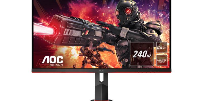 AOC gaming monitors