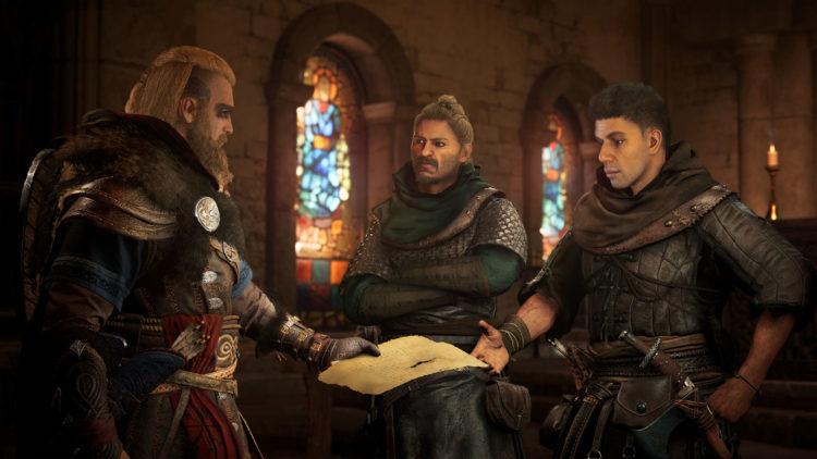 Assassins Creed Valhalla Viking Rap Battles Eivor gameplay