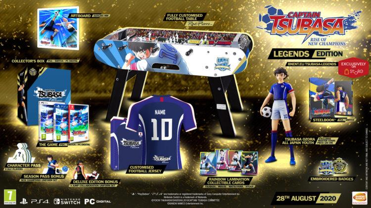 Captain Tsubasa Legends Edition pre order