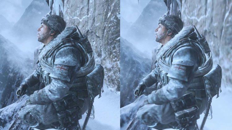 Cod Modern Warfare 2 Remaster Cliffhanger Graphics Comparison