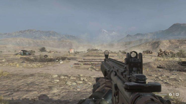 Cod Modern Warfare 2 Remaster Shooting Range