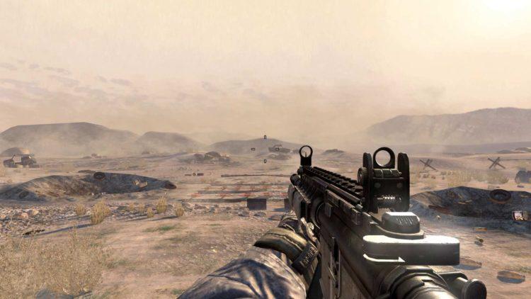 Cod Modern Warfare 2 Original Shooting Range