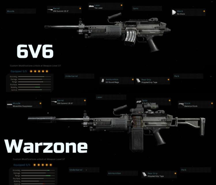 Call Of Duty Warzone Bruen Mk9 Setup