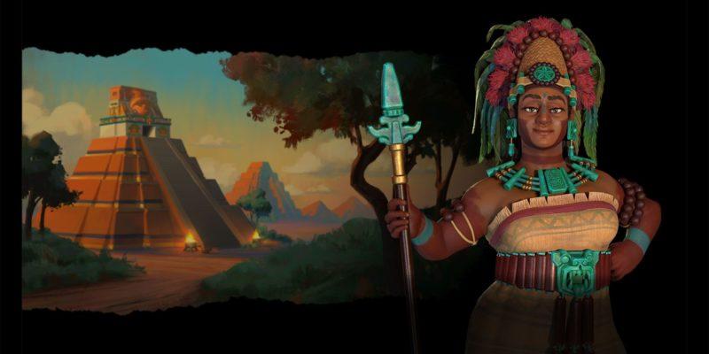 Civilization Vi New Frontier Pass Maya And Gran Colombia Pack Civilization 6 Maya Lady Six Sky