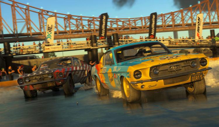 Dirt 5 racing story codemasters