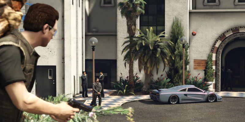Rockstar GTA V epic games store