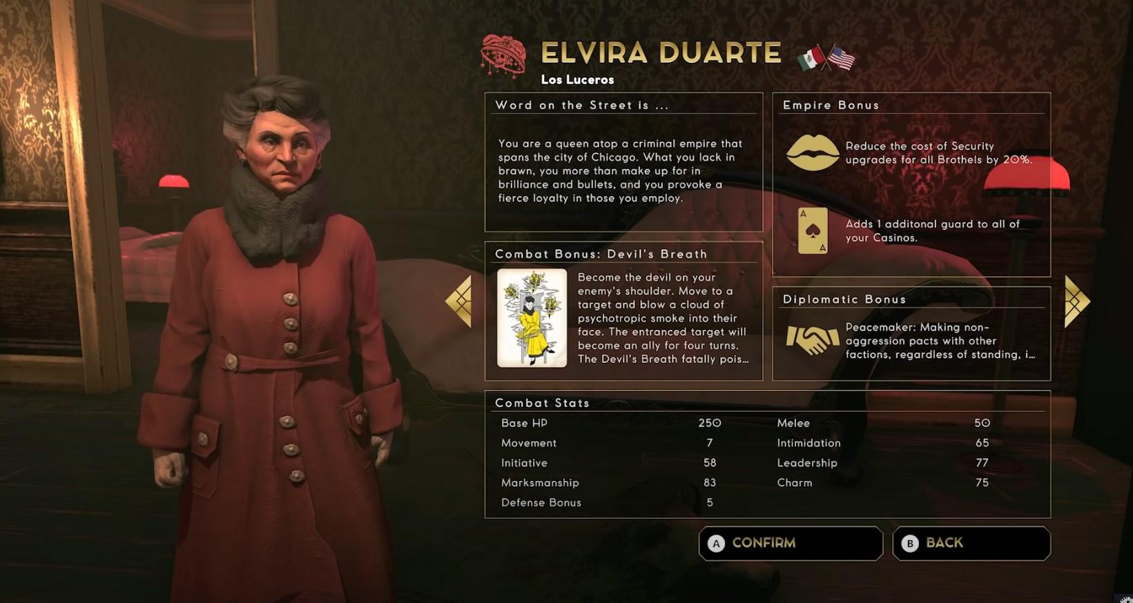 Empire Of Sin's Elvira Duarte