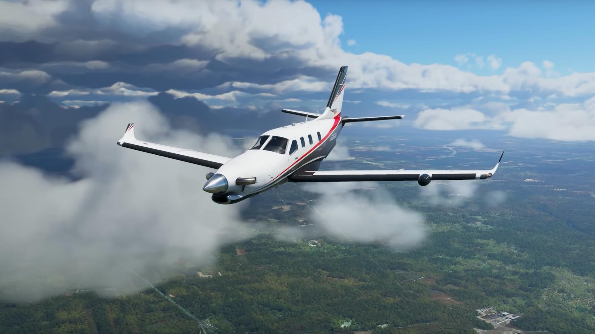 Microsoft Flight Simulator Navigation Plane