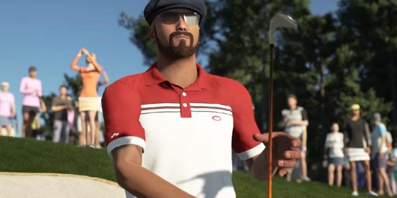 2K Games Pga Tour 2k21 Golfer Shot