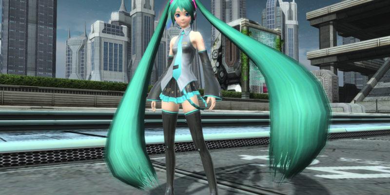 Phantasy Star Online 2 Pc Hatsune Miku