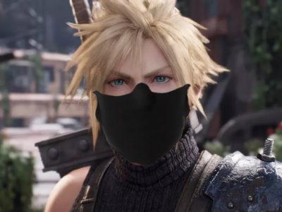 Square Enix Face Mask Feature
