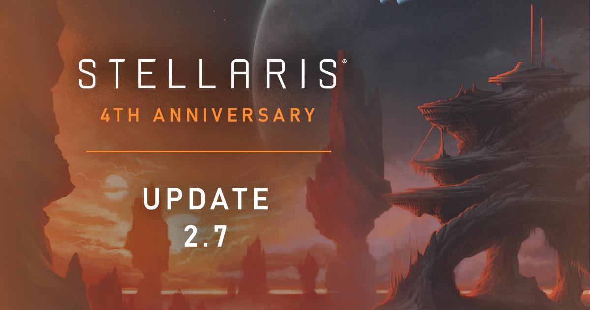 Stellaris 2.7 Wells Update Free Weekend Sales Four Year Anniversary
