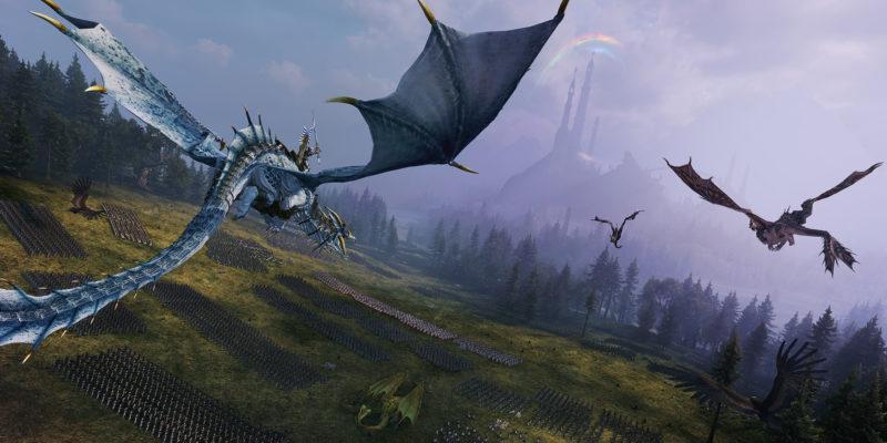 Total War Warhammer Ii Prince Imrik Dragon Taming Dragon Encounters Guide Unique Dragons