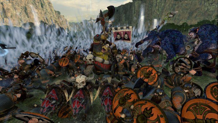 Total War Warhammer Ii The Warden & The Paunch Greenskins Overhaul Waaagh Scrap Grom The Paunch 5 Battle