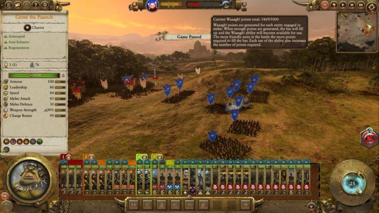 Total War Warhammer Ii The Warden & The Paunch Greenskins Overhaul Waaagh Scrap Grom The Paunch 6 Meter