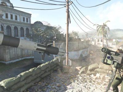 Warzone Javelin Launcher Shot