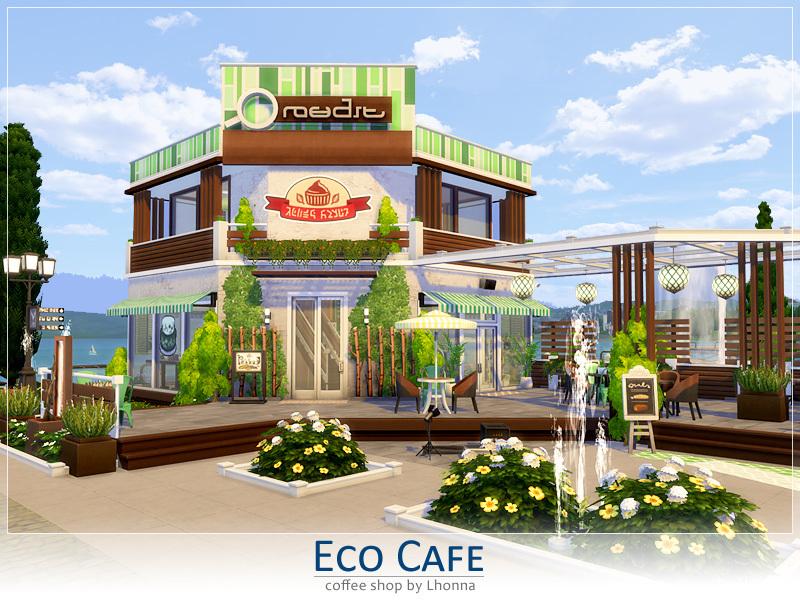 Eco Cafe The Sims 4 Eco Friendly Mods