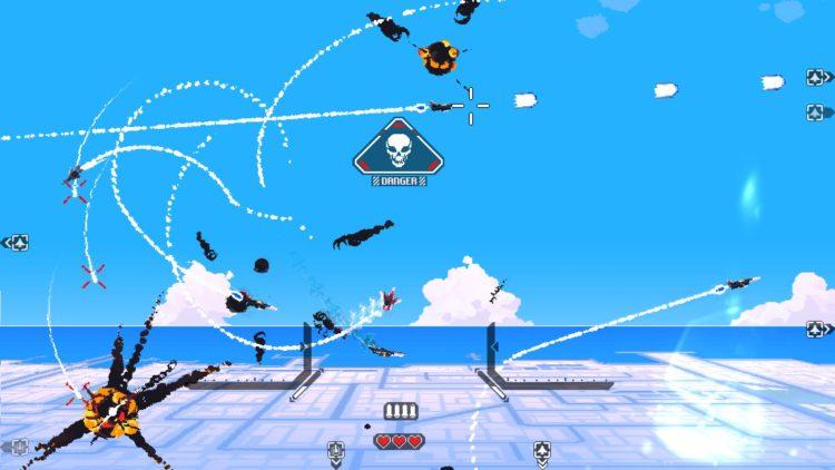 Jet Lancer Action Shot