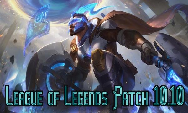 League of Legends Patch 10.10 update champion update