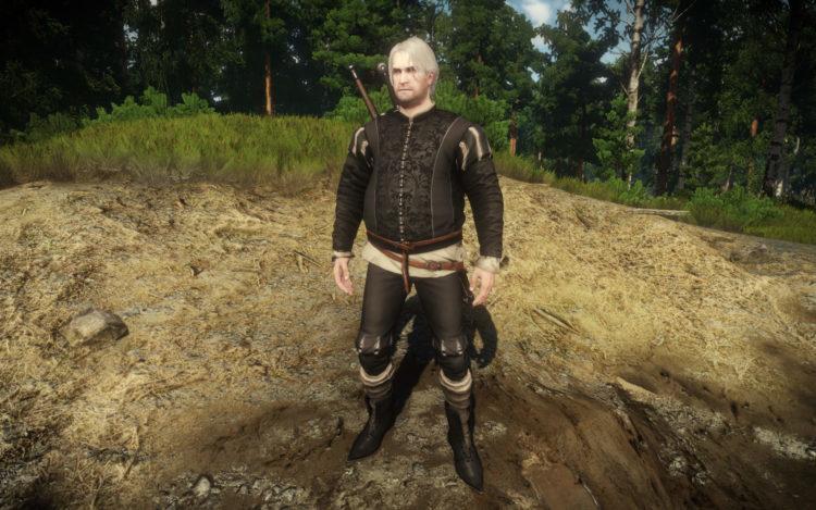 Witcher Mod Mods Dad Bod Geralt