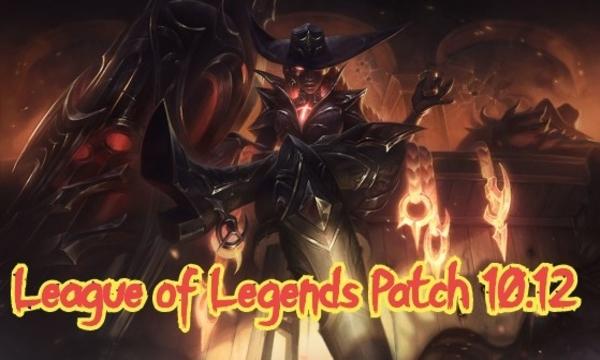 League of Legends Patch 10.12 update buffs nerfs rune changes