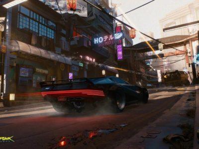Cyberpunk 2077 trailer vehicles