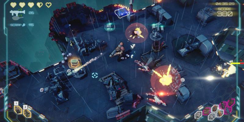 Danger Scavenger star drifters Gameplay