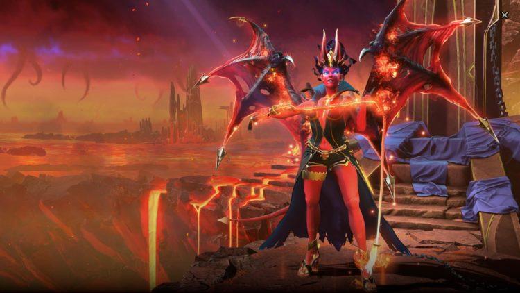 Dota 2 Queen Of Pain Arcana 02