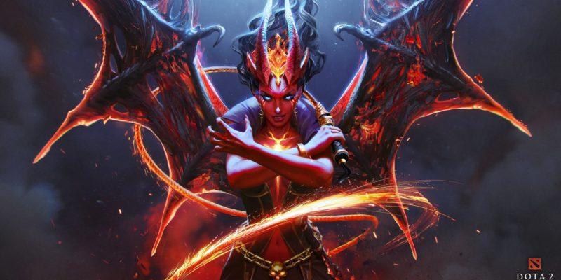 Dota 2 Queen Of Pain Arcana Blade