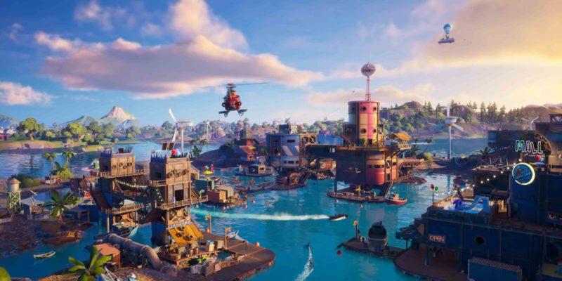 Fortnite Chapter2 Season3 Flooded Island