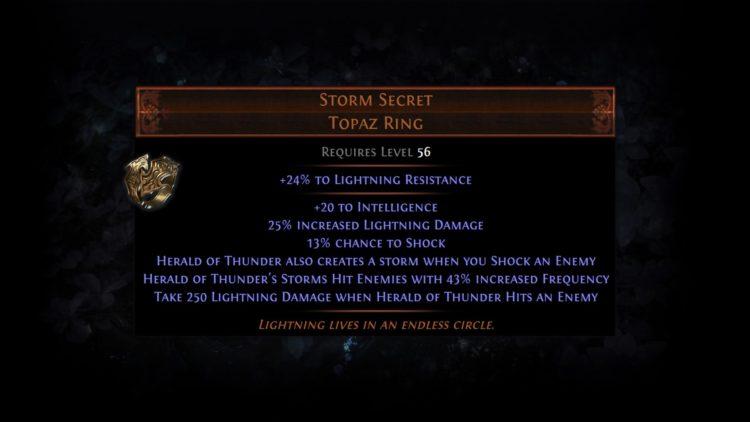 Poe Harv Unqsk 1 Storm Secret