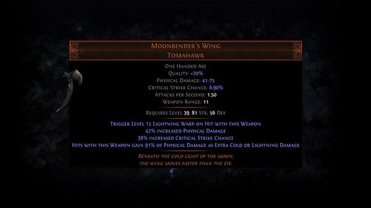 Poe Harv Unqsk 2 Moonbender's Wing